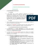 Cour Amphi Marketing Fondamentale - Chapitre 1 - Analyse Du Comportement Du Consommateur