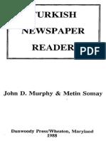 Turkish Newspaper Reader