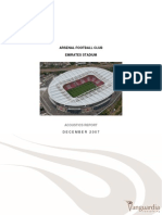 Arsenal Stadium Acoustics Report