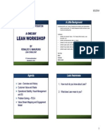 Lean Workshop
