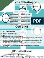 POM - Just in Time Case Presentation