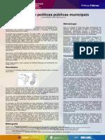 EPT e Políticas Públicas Municipais