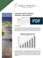 Newport 2000 Load Testing Market Report