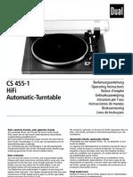 Grundig TT 1  Manual