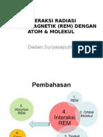 2.Interaksi Radiasi Elektromagnetik (Rem) Dengan Atom