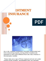 Investment Insurance
