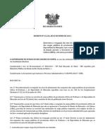 Decreto n 25.256 Revogação Afastamentos Professoress