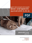 Citizen Report Card Survey on Free Education Services in Vavuniya and Mullative Educaional Zones - Tamil