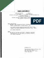 Dreamgirls Script