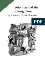 King Solomon and the Talking Door
