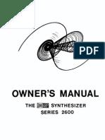 Arp 2600 Manual
