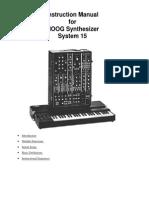 Moog15 Instructionmanual.ps