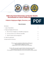 Addressing Sexual Orientation and Gender Identity Discrimination in Federal Civilian Employment