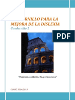 Cuadernillo Dislexia 1º Trimestre