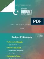 PTI Shadow Budget 2015-16