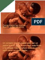 Reflexión padre bueno o buen padre