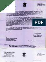 Ram Jethmalani Opposes K v Chowdary as CVC