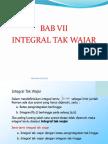 Bab 7 Integral Tak Wajar