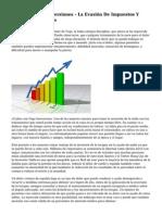 Corporativo De Inversiones - La Evasi?n De Impuestos Y Exenciones Fiscales