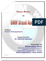 BMW Brand Audit Report