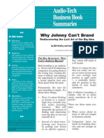 Why Johnny Cant Brand