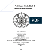 Kelarutan Sebagai Fungsi Temperatur