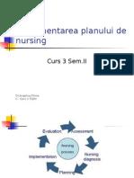 Implementarea Planului de Nursing