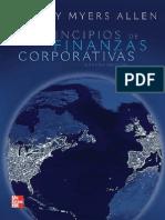 Principios de Finanzas Corporativas 9Ed Myers