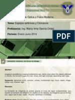 Espejos Cocavos y Convexos- 2013-EnTREGAR