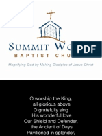Morning Gathering Lyrics - June 7, 2015