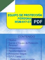 Equipo de Proteccion Personal Epp Nom-017