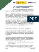Guia Publicar Opendata Ckan