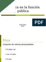etica en la funcin publica