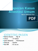 Lapkas Anestesi Kista Ovarium