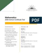 mathematics sctest 06