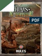 Heroes of Normandie Rules 1.2b