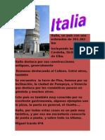 Italia, Un País Con Una Extensión De