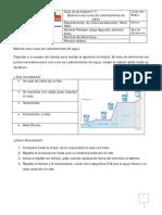 1.- Elaborar Una Curva de Calentamiento de Agua -8vo
