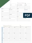Plano Diário e Semanal
