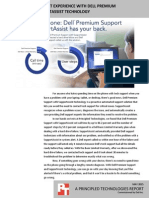 Improve your support experience with Dell Premium Support with SupportAssist technology