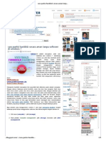 Cara Partisi Harddisk Secara Aman Tanpa Software Di Win7