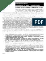 Declaracion Oposicion Suteba Febrero 2010
