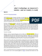 effects in technology