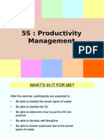 5S Productivity Management