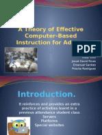 a theory of effective cbi co todas las diapositivas