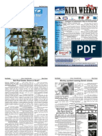 "Kuta Weekly-Edition 168 ""Bali""s Premier Weekly Newspaper"""