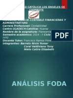 Analisis Foda, Medio Internos y Externos