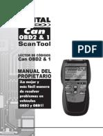 Manual scaner automotriz 3140 S