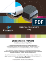 Encadernadora Premiere Catalogo 2015