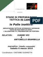 3 ^ Stage Prep Portieri